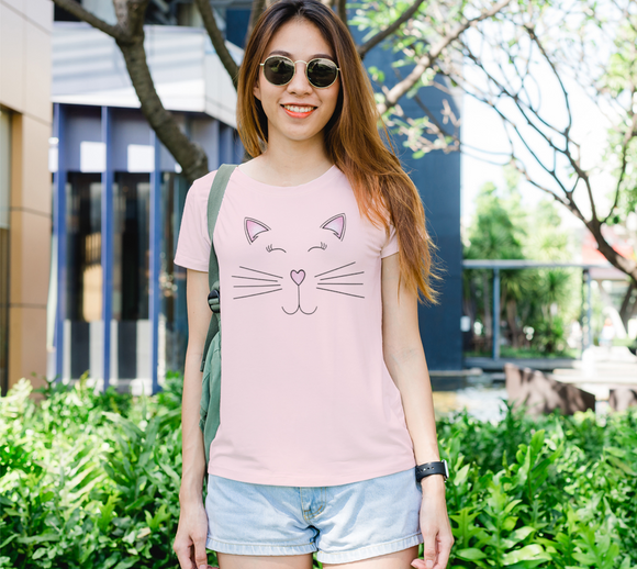 Pretty Kitty Women's Fitted Tee