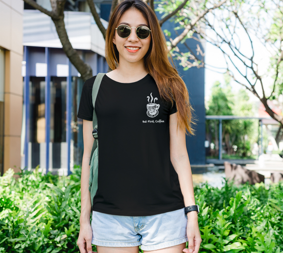 But First, Coffee Women's Fitted Tee