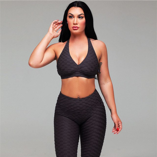 Lily - Fitness Top + Shorts - 2 Piece Set - Activa Star