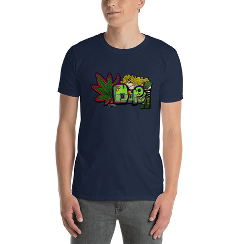 Dope T Shirt Dope Tee Navy Weed Dope T Shirt for Men - FlorenceLand