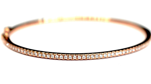 Slim Diamond Bangle