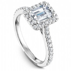 Shared Prong Halo Engagement RIng R050-04WM