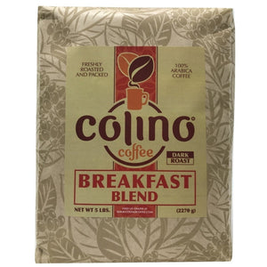Breakfast Blend Colombian Coffee