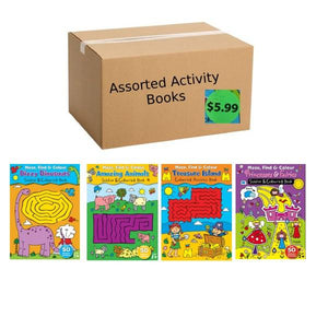 Assorted Box Of Activity Books