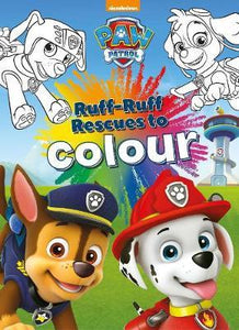 Paw Patrol Ruff Ruff Rescue to Colour
