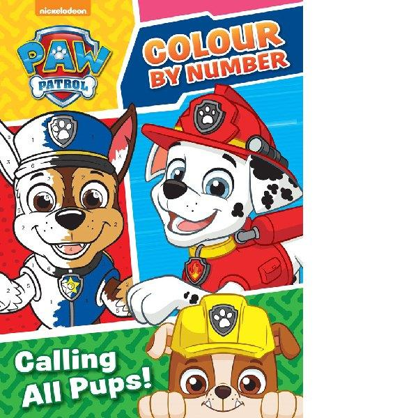 Paw Patrol Colour by Number