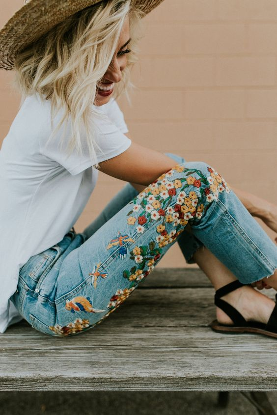 The Embroidery Trend and How to Wear it - Even Better if you can Make it!