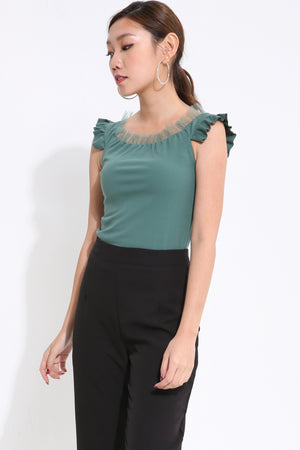 Off Shoulder Top 1634 - ample-couture