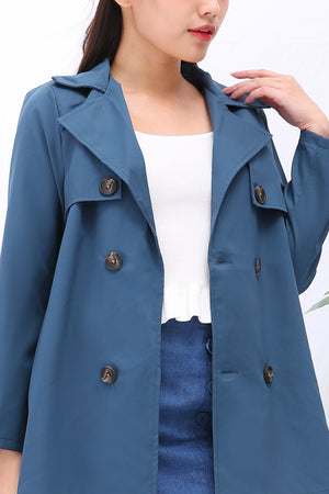 Button Coat Jacket 3280 - ample-couture