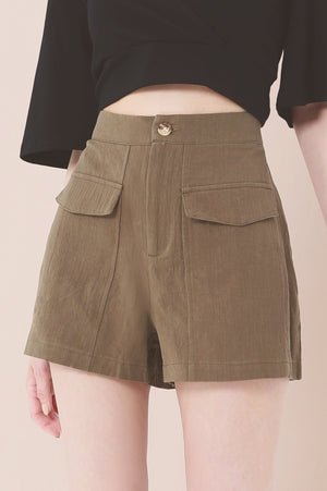Plain Shorts 3636 - ample-couture