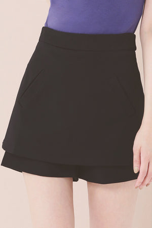 Plain Shorts 3650 - ample-couture