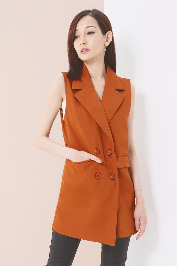 V-Neck Coat with Belt 3625 - ample-couture