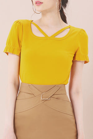 Plain Top 3640 - ample-couture