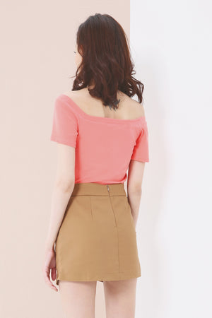 Plain Skirt Pants 3629 - ample-couture