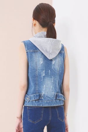 Denim Jacket 3667 - ample-couture
