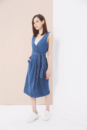 Jeans Dress 3670 - ample-couture