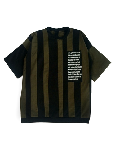 Stoic Contrast Patch T-shirt