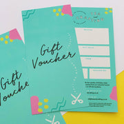 Unique and Original Gift Cards and Vouchers to Buy Online for Craft Workshops