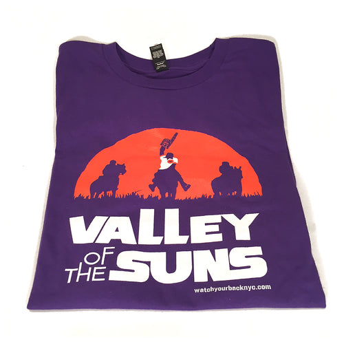 Watch Your Back Valley Of The Suns t-shirt