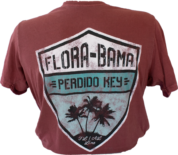 Flora-Bama Vintage Shield Shirt