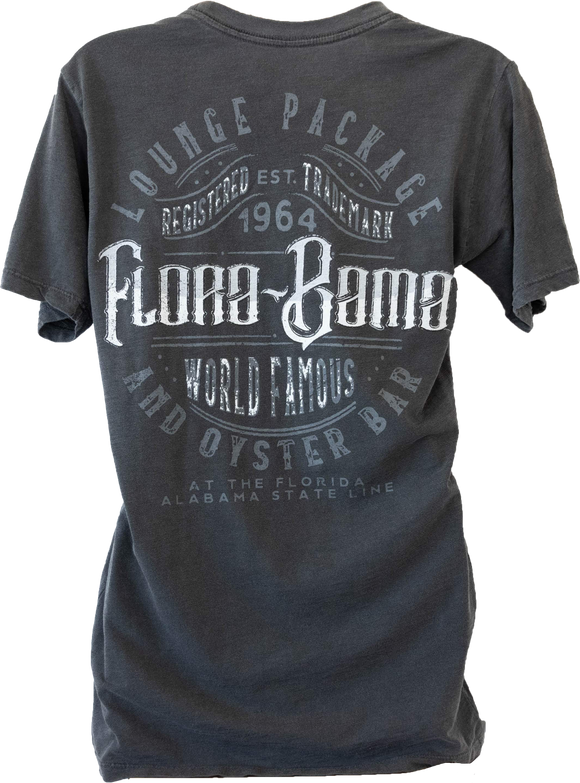 Flora-Bama World Famous Grey Tee