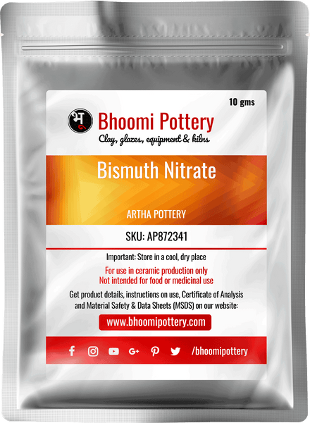 Artha Pottery Bismuth Nitrate for sale in India - Bhoomi Pottery