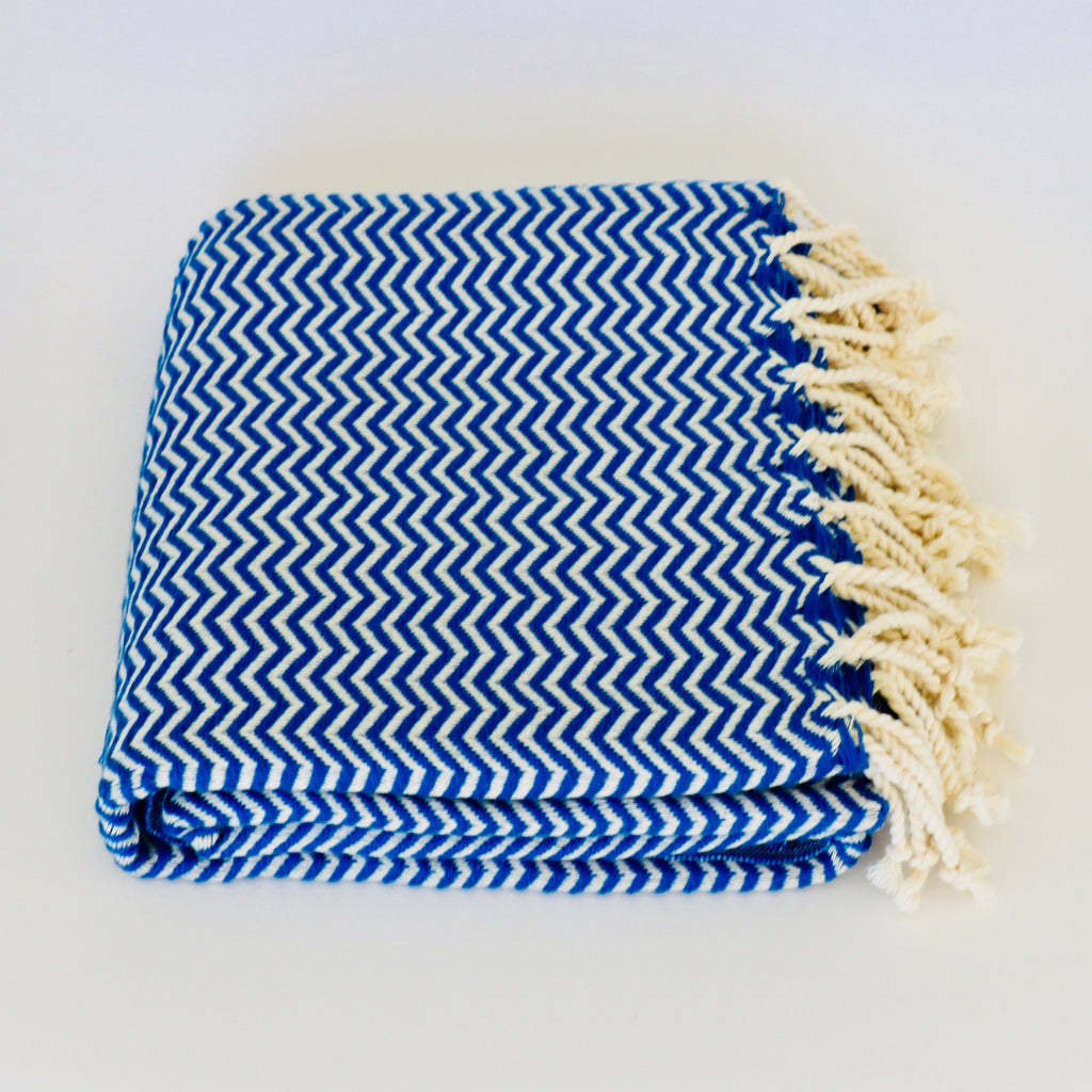 Bon Bini Chikitu Towel Pacific Blue