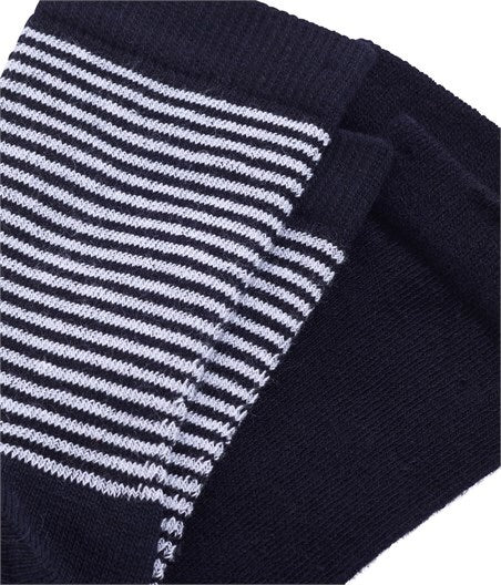 Petit Bateau Women's Striped Metallic Socks 2-Pack