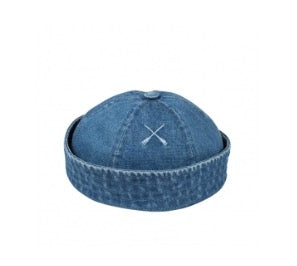Béton Ciré Washed Denim Moussaillon Hat