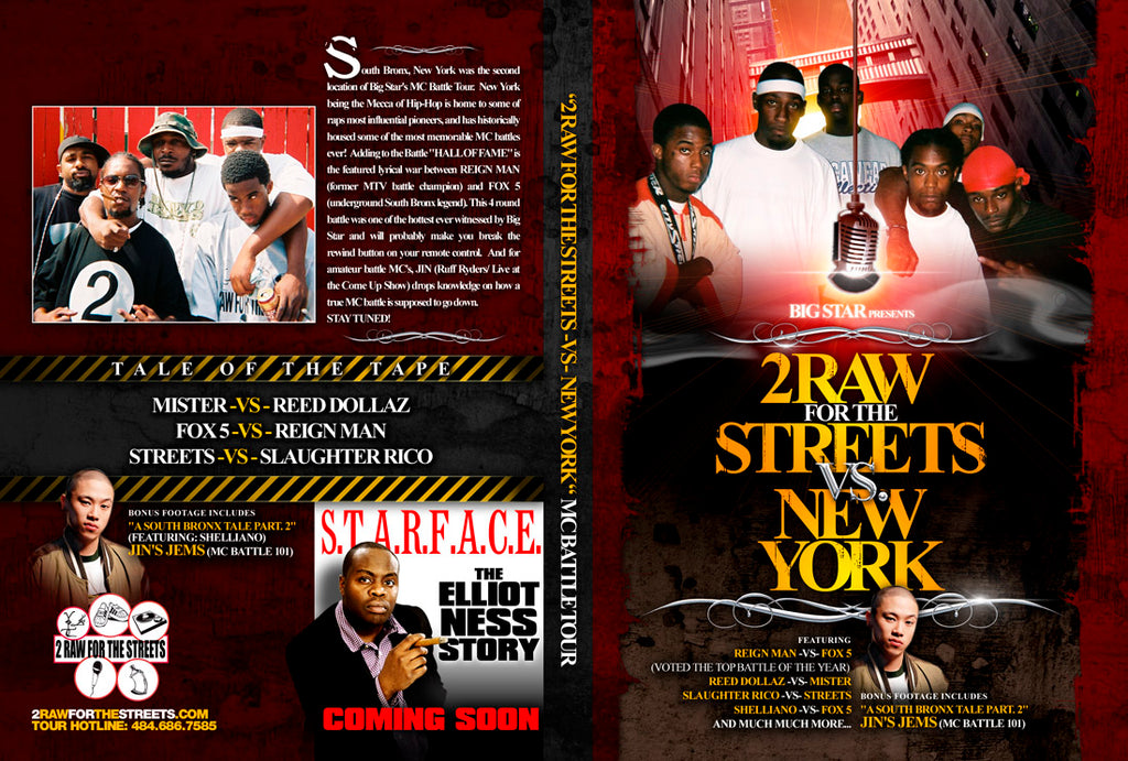 2 RAW (PHILLY) vs NEW YORK (DIGITAL FILE DOWNLOAD)