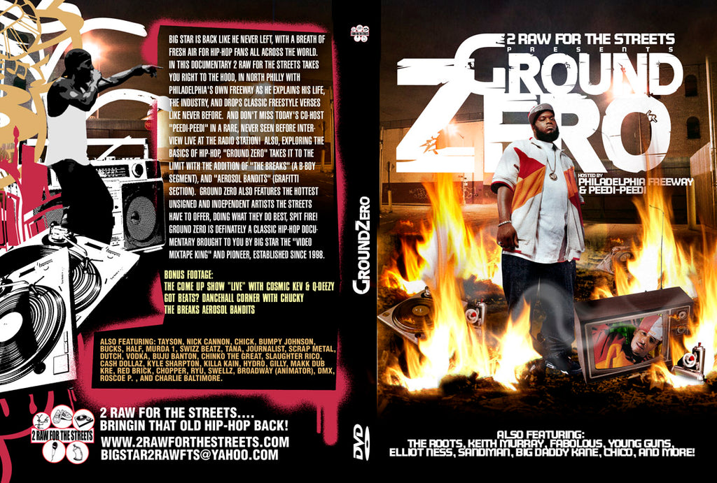 Ground Zero hosted by FREEWAY (DIGITAL FILE DOWNLOAD)