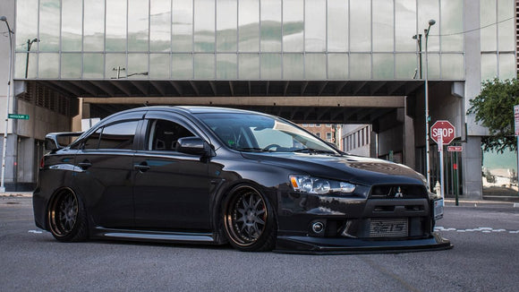 Mitsubishi Lancer Evolution X Air Lift Suspension