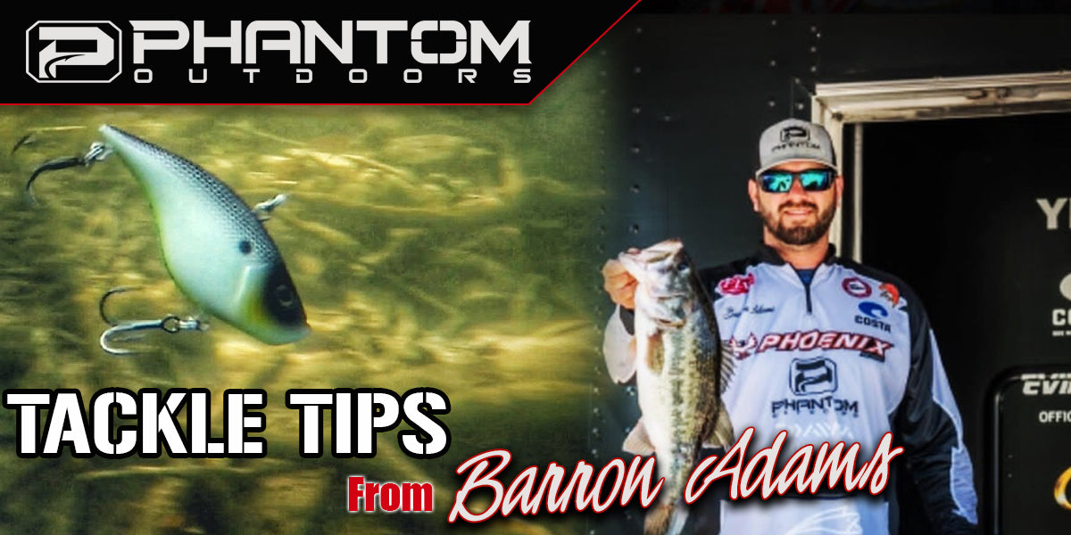 TOURNAMENT GRADE TIPS AND TRICKS: LIPLESS CRANKBAIT TIPS FROM BARRON ADAMS