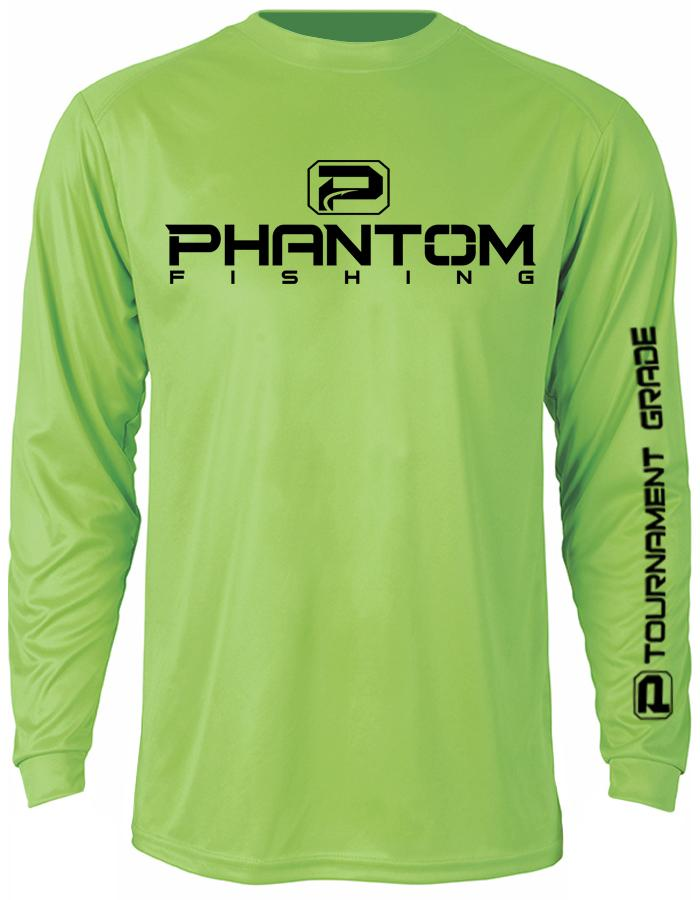 Phantom Fishing Performance Long Sleeve LS1 - Neon Series