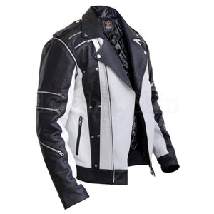 Men - Apparel - Outerwear - Jackets Michael Jackson White Leather Jacket Fashion Madness