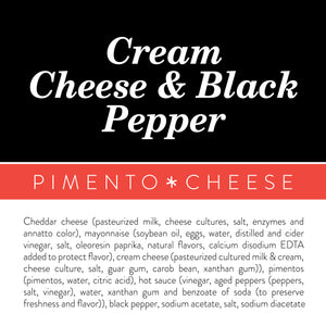 Cream Cheese + Black Pepper Pimento Cheese