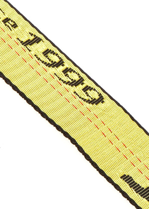 Yellow Tape Belt - Detail