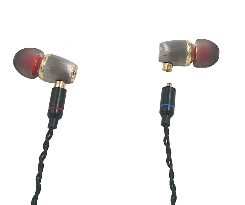 Premium Hi Definition in-ear Headphones with Patented Japanese 9.8mm Drivers - studio19london