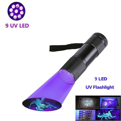 UV Flashlight Black Light, Ultraviolet Torch Blacklight Detector for Dog Urine, Pet Stains and Bed Bug z50