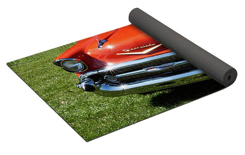 Image of Vintage Car - Yoga Mat - Yoga Mat