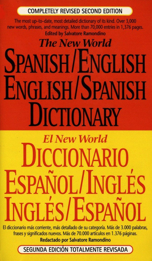 Referencia - The New World Spanish/English, English/Spanish Dictionary (El New World Diccionario Español/inglés, Inglés/español) (Spanish And English Edition) Salvatore Ramondino