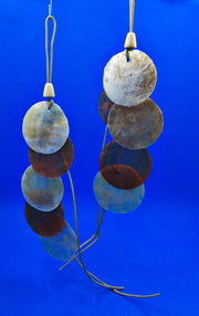 Two Tone Flat Shell Chimes - HartFelt Keepsakes