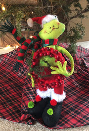 Christmas Stuffed Santa or Frog Doll - HartFelt Keepsakes