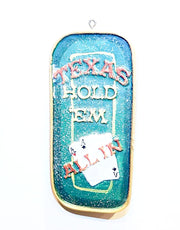 "Poker Ornament: ""Bet The Pot"" or ""Texas Hold 'Em"" - HartFelt Keepsakes"