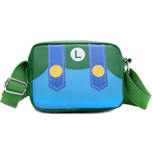 Luigi - Mario Small Size Messenger / Shoulder Bag