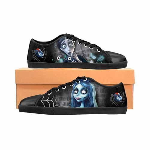 Corpse Bride Men's Canvas Shoes