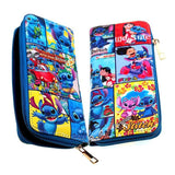 Disney Lilo & Stitch Collage Long Line Wallet - Undead Inc Wallet,