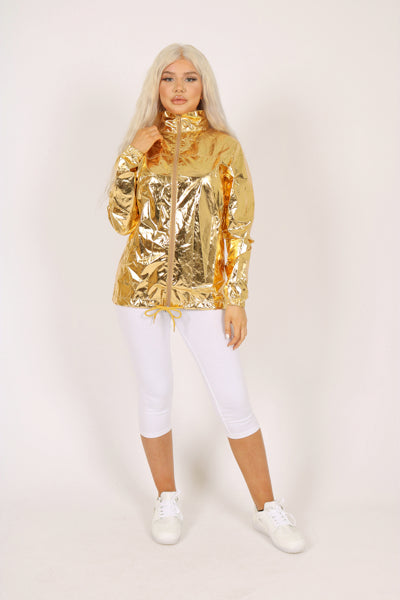 Gold Waterproof Jacket