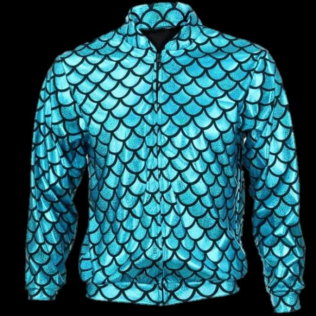 Jackets - Flash Jacket Blue Scale