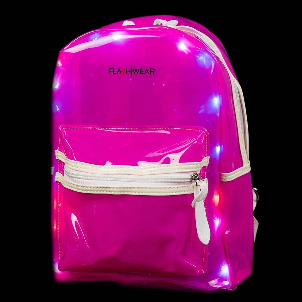 Light-up Backpack - Pink